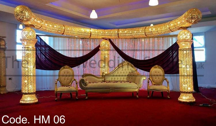 Asian wedding stage crystal stage decoration for Asian wedding stage decoration