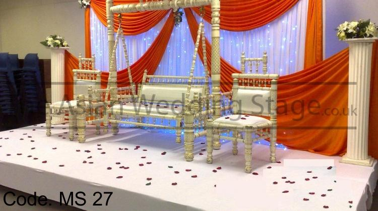Asian wedding stage for Asian wedding stage decoration london
