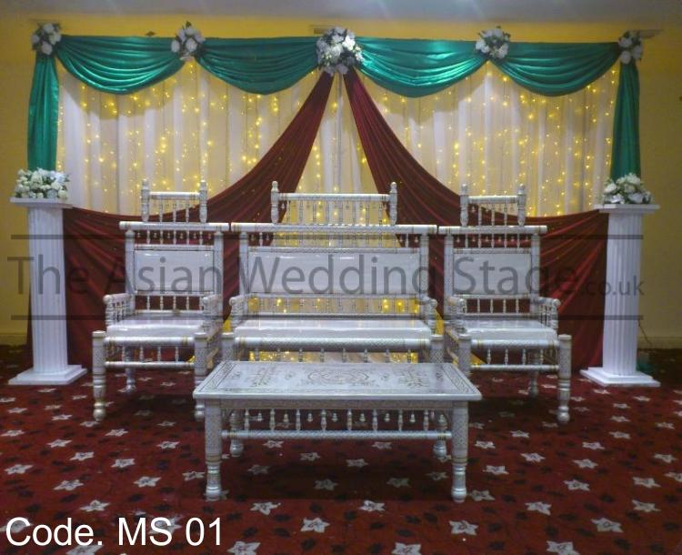 Asian wedding stage for Asian wedding stage decoration manchester