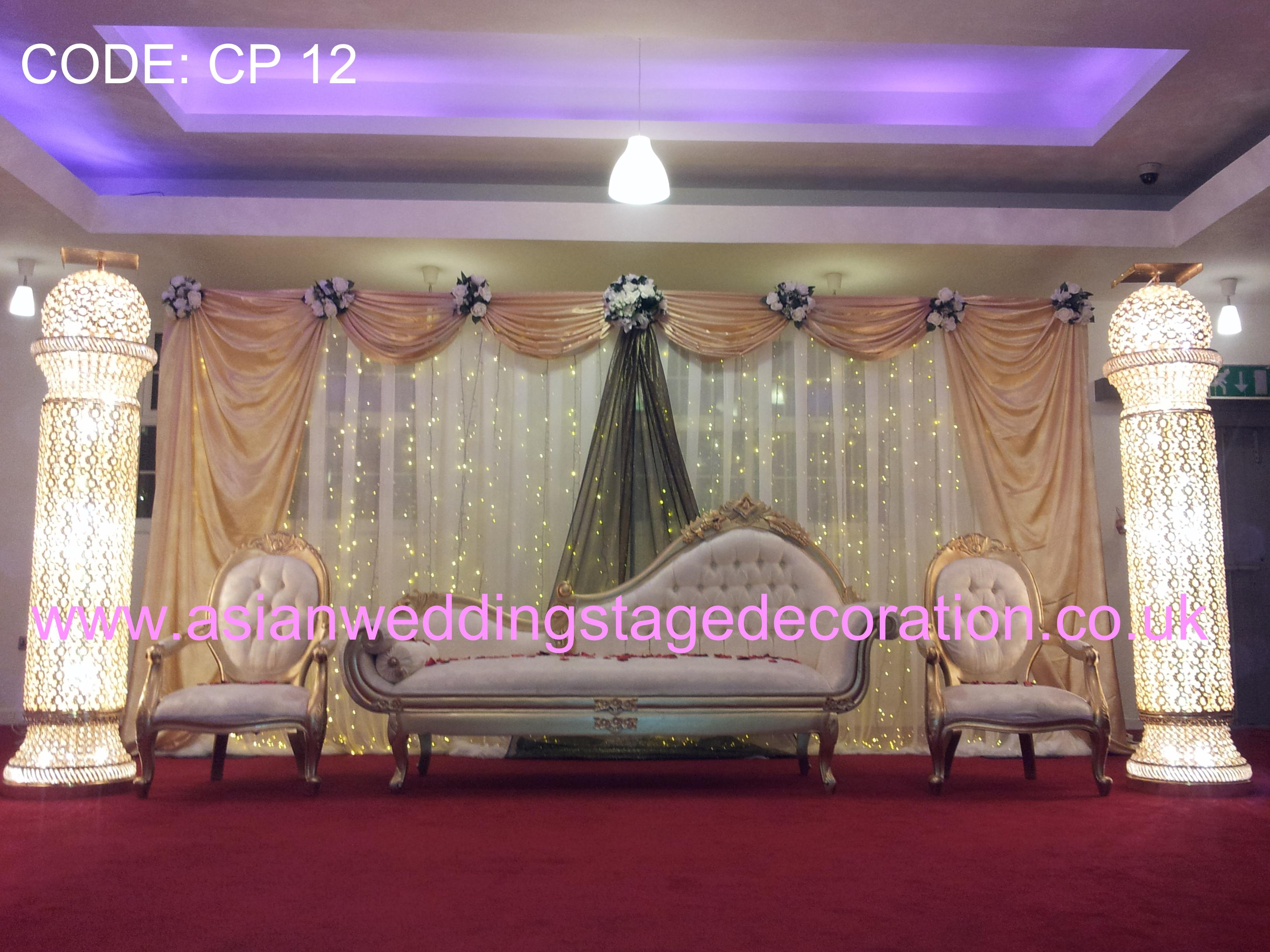 Asian wedding stages hire london birmingham and uk 39 s for Asian stage decoration