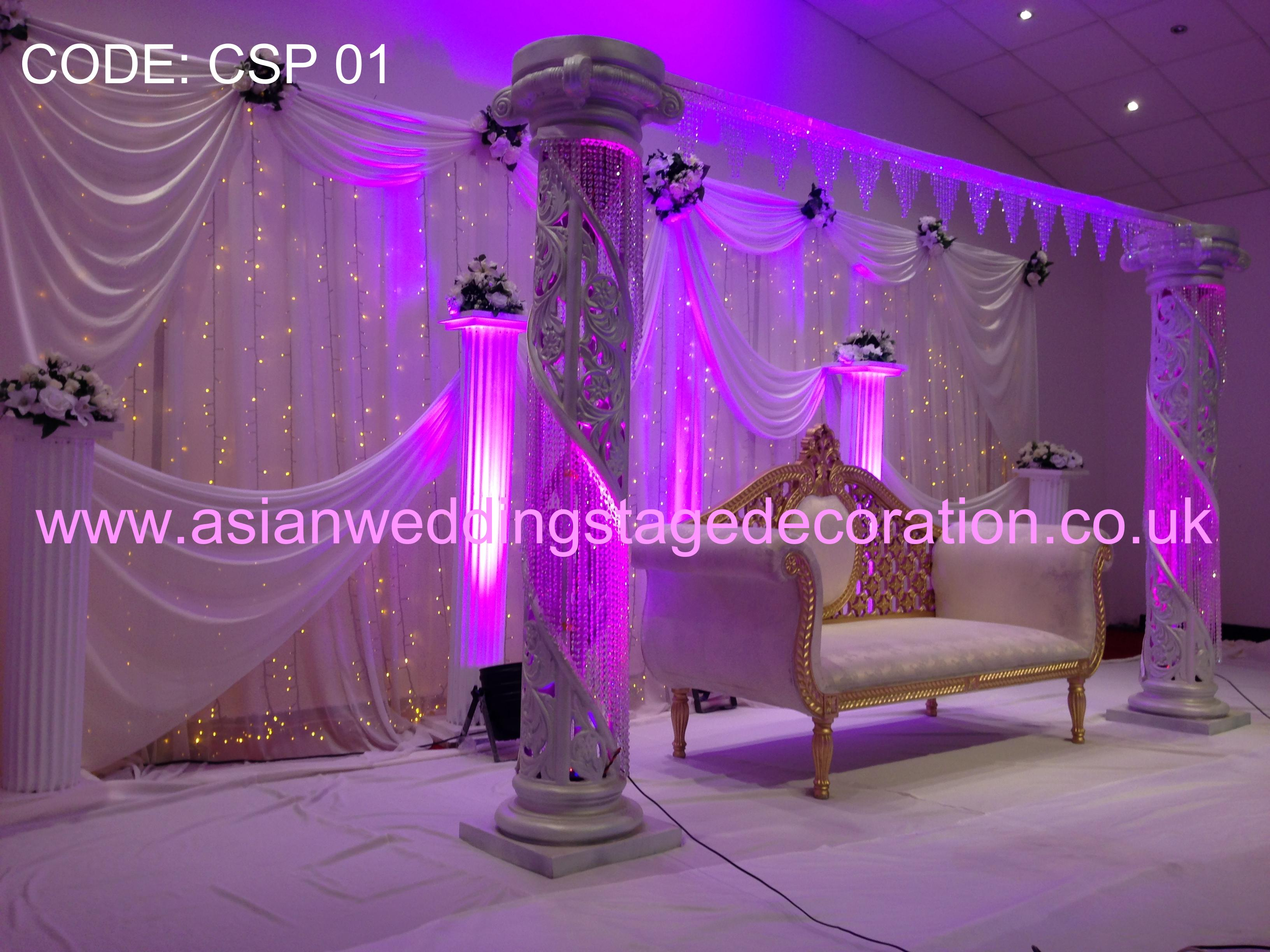 Asian Wedding Stages Hire London Birmingham And Uks Best Wedding
