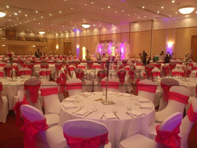 Vase for Asian wedding stage decoration london