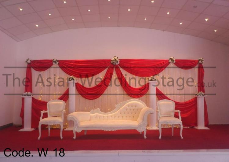 Asian wedding stages wedding stage for rental for Asian wedding stage decoration manchester