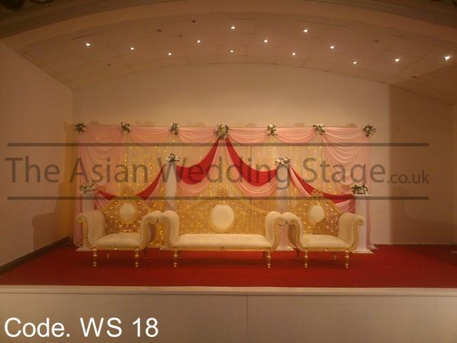 Asian wedding stages wedding stage for rental for Asian wedding decoration hire